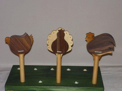 Animal shapes castanets