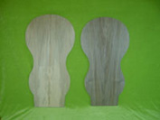 - European walnut (on the left) - American black walnut (on the right)